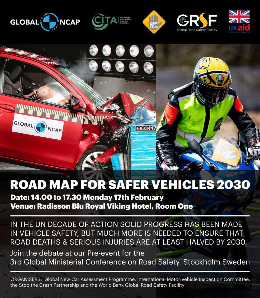 Road Map for Safer Vehicles 2030